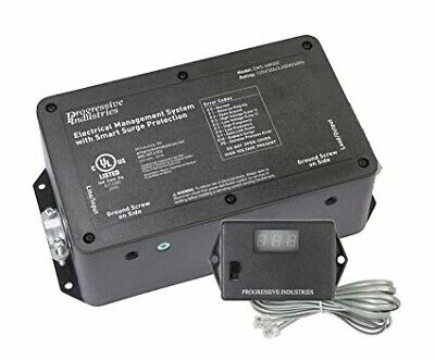 Progressive Industries EMS-HW30C 30A RV Surge Protector with Remote ()