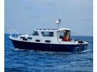 Mitchell 31 motor boat cabin cruiser