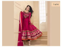 Indian wedding anarkali dress