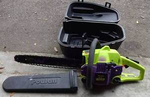 """Poulan Wild Thing 18"""" Chainsaw with Case"""