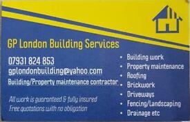 GP London Building services