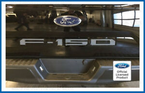 2018 Ford F150 Tailgate Insert Decals Letters Inlay Stickers rear tail gate