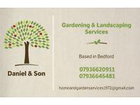 Gardening & Landscaping Services - Daniel & Son
