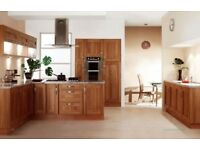 10 unit Walnut shaker kitchen ** whilst this stocks clearing**