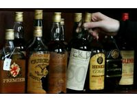 Collectable whiskies wanted