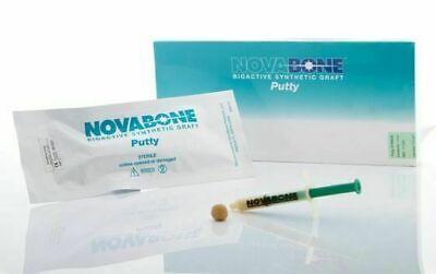 Novabone Dental Putty 0.5 Cc Syringe Form Cartridge 100 Synthetic Safe