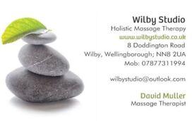Full body Swedish massage with male masseur, Wellingborough, Northamptonshire
