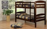 Bunk beds galore, many models in stock (ALL NEW IN BOXES)