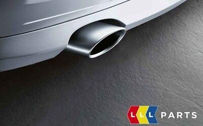 1 Auspuffblende Edelstahl für BMW e87 LCI 116d 118d 120d e84 X1 16d 18d 20d 23d