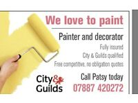 Experience painter and decorator