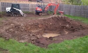 Niagara Area Skidsteer, Mini Excavating, Landscaping