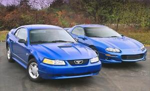 1978-2005 Ford Mustang Or 1985-2002 Chevy Camaro
