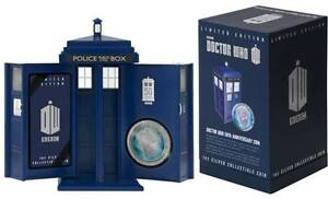 Doctor Who 50th Anniversary 1oz Silver Coin (New Zealand Mint)