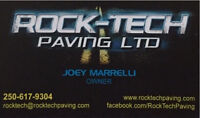 Residential driveways/Commercial parking lots