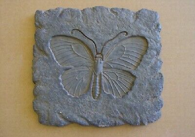 Stone Butterfly Concrete Plaster Stepping Stone Garden Mold 1110