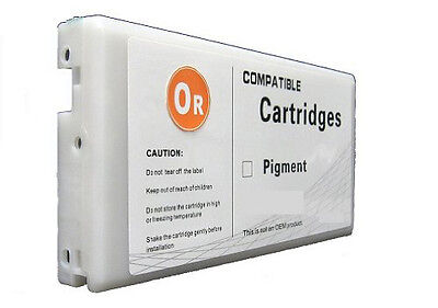 Wide Format Cartridge T655A Compatible for Epson Stylus 4910 Pigment Orange Ink for sale  Walnut