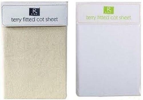 Terry Fitted Cot Sheet Ebay