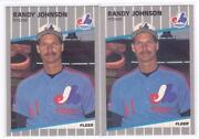 1989 Fleer Randy Johnson