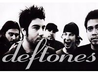 DEFTONES - GENERAL ADMISSION STANDING - ALEXANDRA PALACE - FRI 05/05 - £42.50!