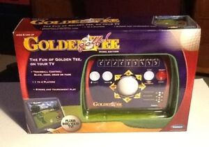 Radica Golden Tee Plug n Play Video Golf Video Game NIB