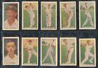 1936 Season Cricket Trading Cards