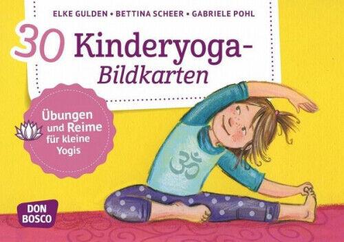 30 Kinderyoga-Bildkarten (Sonstiges) NEU