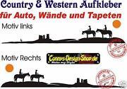 Autoaufkleber Western