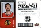Corey Crawford Single NHL Hockey Trading Cards