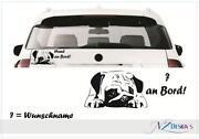 Autoaufkleber Hund
