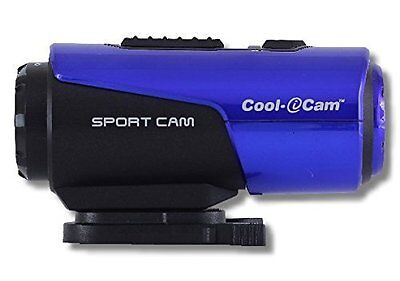 iON America Cool i Cam S3000 Waterproof Action Camcorder with 720p HD Video BLUE