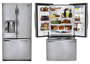 LG 24.6 Cu.Ft. French Door Refrigerator Stainless Retail $3999