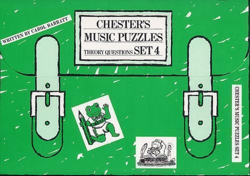 Carol Barratt: Chester's Music Puzzles Set 4 (Primary Sch... CH55844