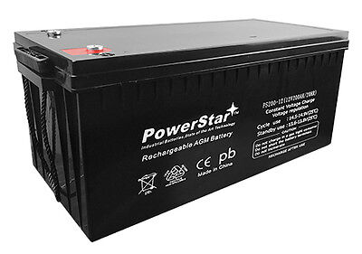 12V 200Ah 4D SLA AGM Battery Replacement for Solar Systems  - 2 YEAR WARRANTY