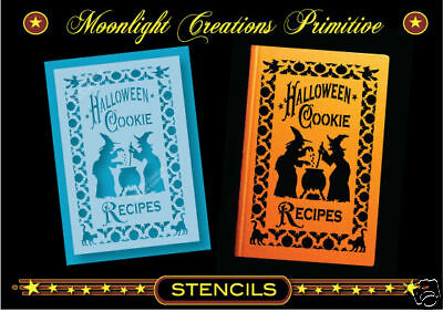 Primitive Stencils-HALLOWEEN COOKIE RECIPES~Magical Mystic Spells Enchanting  - Halloween Biscuit Recipe