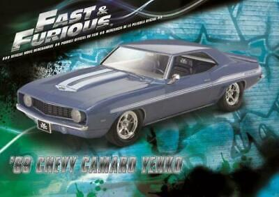 REVELL 4314 1/25 Fast Furious 1969 Chevy Camaro Yenko Model Car Kit FREE SHIP