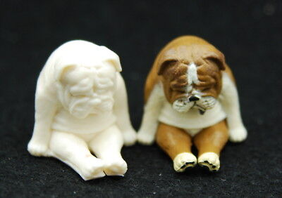 Mini dog #3, Silicone Mold Chocolate Polymer Clay Jewelry Soap Melting Wax Resin