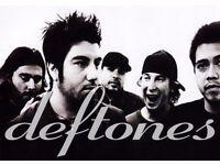 DEFTONES + AFI - GENERAL ADMISSION STANDING - ALEXANDRA PALACE - FRI 05/05 - £55!