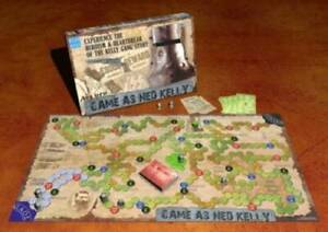 Game as Ned Kelly Board Game Balgownie Wollongong Area Preview