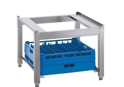 Edelstahl Untertgestell GSP 2 für Spülmaschinen B 600 x T 575x H 450