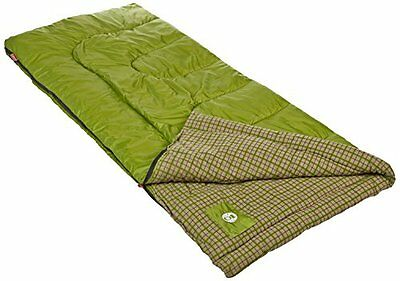 NEW Coleman Green Valley Cool Weather Adult Sleeping Bag FREE (Coleman Green Valley Cool Weather Sleeping Bag)
