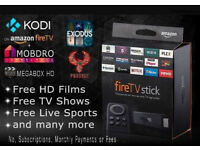 Amazon fire TV stick fully loaded ✔ Sports✔TV Shows✔Movies✔MOBDRO⚽✔MegaBox✔