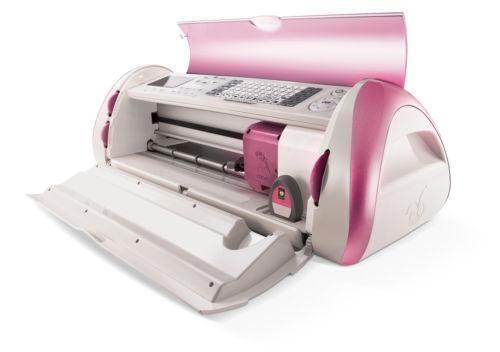 Pink cricut expression die cutting machines dies ebay for The cricut craft machine