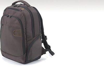 (Dicota Laptop Computer Notebook Backpack BROWN Bag High Quality)