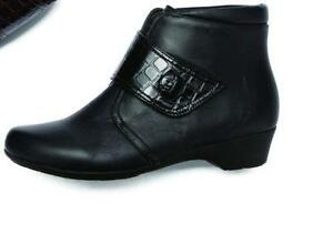 552ac6bbe1698b Wide Fit Ankle Boots
