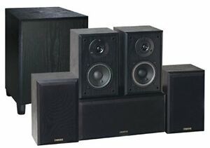 MINT CONDITION ADVENT 5.1 SPEAKERS & SUB WITH BRACKETS/WIRE
