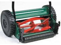 Qualcast Panther manual push lawnmower