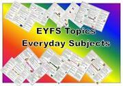 Eyfs Planning