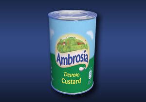 1-12-Scale-Devon-Custard-Tin-Dolls-House-Miniature-Food-Cans