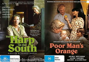The Harp In The South / Poor Man's Orange DVD TV MINI-SERIES AUSTRALIAN DRAMA R4