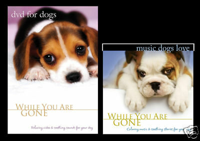 DVD For Dogs + Music For Dogs CD (Combo Pack) Dog video, Dog CD, Video for Dogs